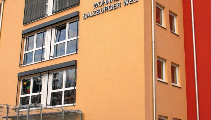 Das neue Wohnheim am Salzburger Weg. Foto: KJSW/rif