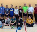 Die Klasse 9Ü der Mittelschule Westerndorf mit den Trainern und der Lehrerin Katrin Herbert.