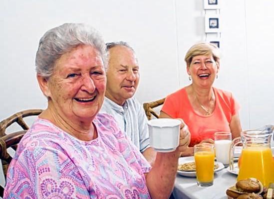Am Mittwoch, 27. Mai, ist es wieder so weit: Senioren treffen sich zum gemeinsamen Frühstück.