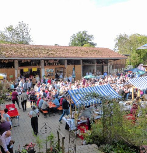 Das Hoffest ist jedes Jahr ein wahrer Publikumsmagnet.