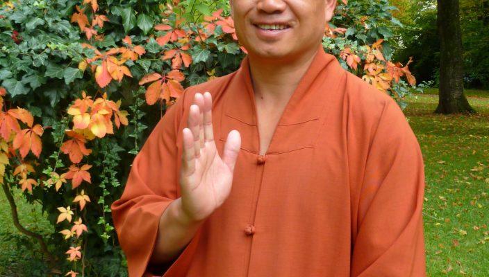 Shaolinmeister Shi Xinggui.