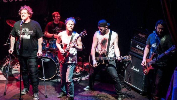 Die Bad Aiblinger Band Skilldrive schreibt ihre Song selbst.