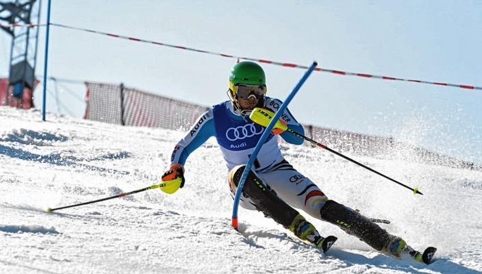 Dominik Strehle (GER) gewann 2014 den Slalom am Waldkopf. Foto: Datzer