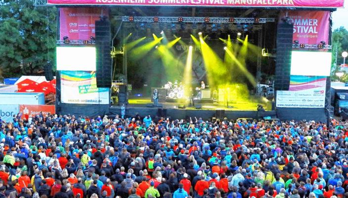 Die Stimmung beim Sommerfestival wird auch im kommenden Jahr wieder toll sein! Foto: Gröning