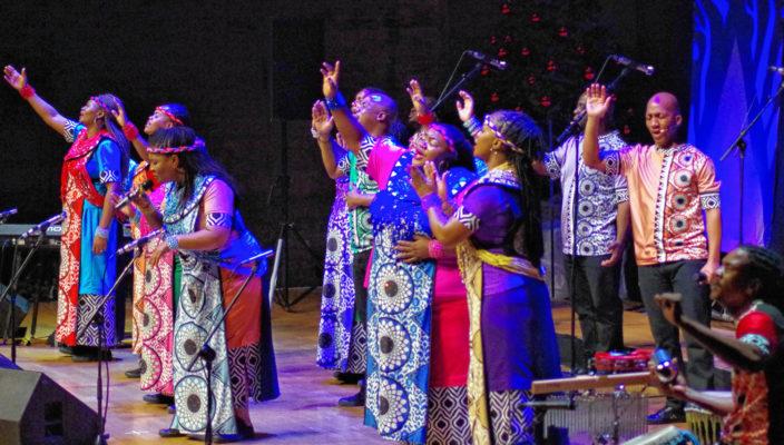 """""""Freedom"""" lautet das Motto des Soweto Gospel Choir."""