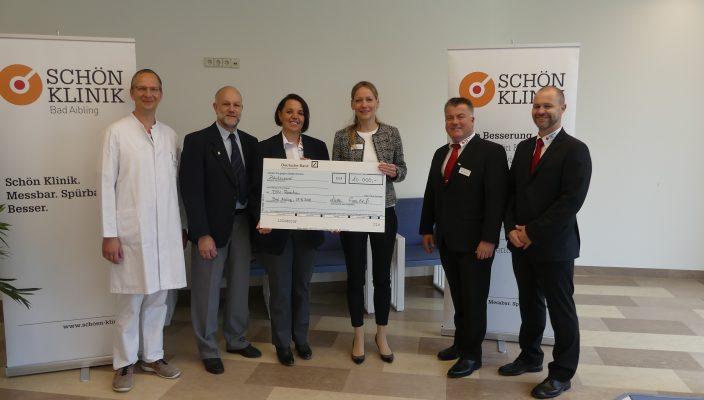 Prof. Dr. Klaus Jahn, Thomas Sedlmair, Sabine Heger, Dr. Kerstin Eisenbeiss, Martin Schmidt und Alexander Zurawski (von links)