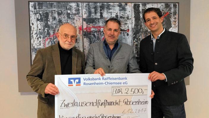 Von links: Manfred Hellstern, Michael Hartinger und Andreas März.