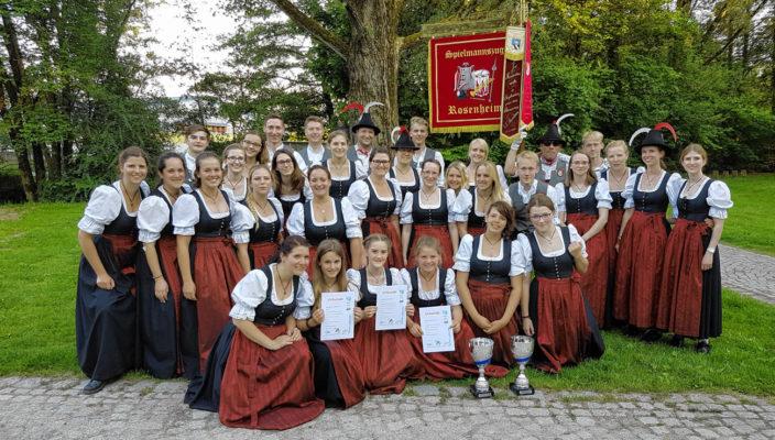 Die glücklichen Gewinner des Spielmannszug Rosenheim sind dasnächste Mal beim Rosenheimer Stadtfest am 24. Juni zu hören.