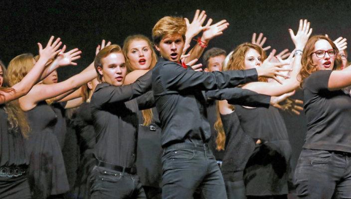 Die Performance Class beim letztjährigen Bayerischen Musikschultag in Rosenheim.