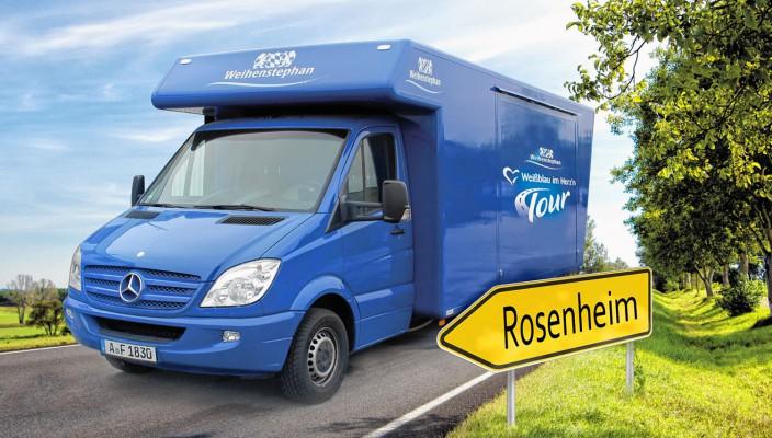 Auf geht's nach Rosenheim zum Stadtfest! Foto: re