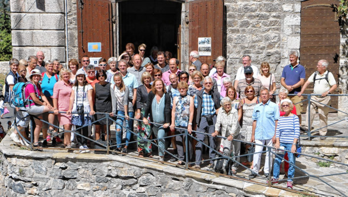 40 Rosenheimer besuchten die französische Partnerstadt und wurden sehr herzlich empfangen.