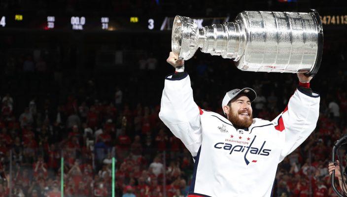 Philipp Grubauer mit dem Stanley Cup. Foto: Washington Capitals