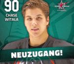 Chase Witala soll im Angriff neue Akzente setzen.