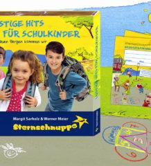 Ein tolles Geschenk für den Schulstart ist die neue Sternschnuppe-CD!