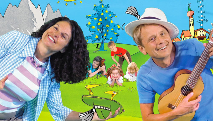 Lustig-freche Kinderlieder mit Margit Sarholz und Werner Meier. Foto: Sternschnuppe