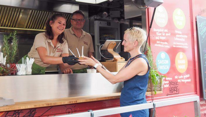 Auf dem Street Food Market darf wieder so richtig geschlemmt werden! Foto: cityguide Rosenheim