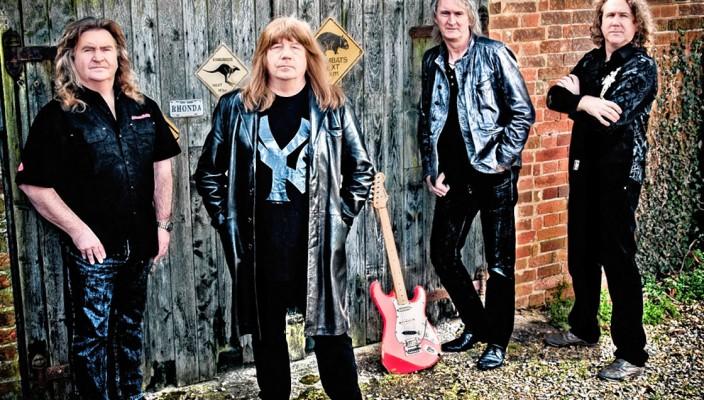 """Die Band """"Sweet"""" ist bekannt für zeitlose Welthits."""