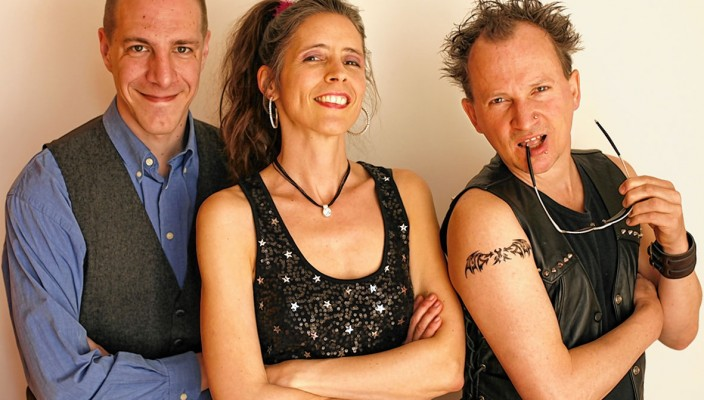 Steffen Zander (links), Rahel Comtesse und Peter Krempelsetzer. Foto: fkn