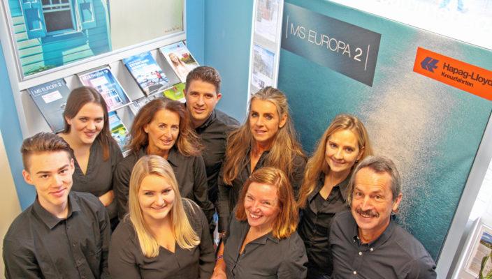 Große Freude beim Team vom Wendelstein Reisebüro.