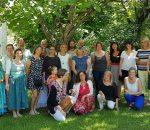 """14 Frauen und Männer haben den Qualifizierungskurs """"Kindertagespflege"""" erfolgreich abgeschlossen."""
