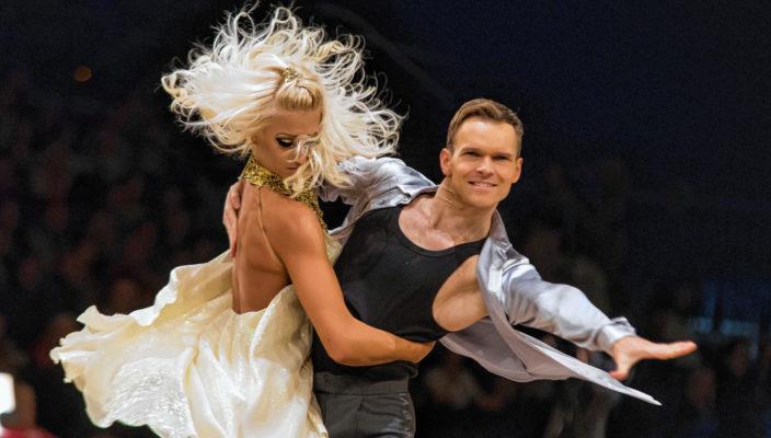 Die vierfachen Weltmeister im Showdance, Kathrin Menzinger und Vadim Garbuzov. Foto: Josef Cech