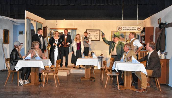 Bei der Aufführung des Theaters Stephanskirchen geht es lustig zu. Foto: Schlecker