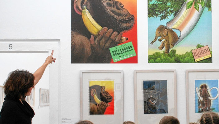 """Gerade auch für Kinder gibt es bei der Ausstellung """"Zum Kuckuck"""" viel zu entdecken. Foto: re"""