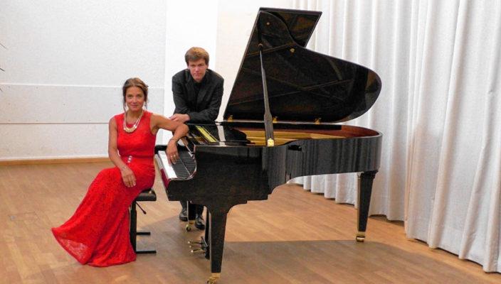 Olga Töppel und Thomas Schuch.