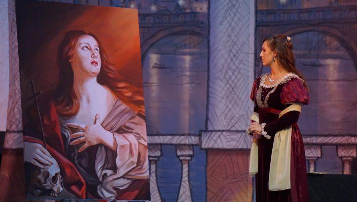 """Opern auf Schloss Amerang sind ein besonderes Vergnügen: Puccinis hinreißende """"Tosca"""" ist nur noch einmal am 14. Juli zu erleben."""