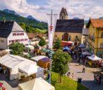 Auf dem historischen Marktplatz ist auch heuer der traditionelle Markt. Foto: Nitzsche
