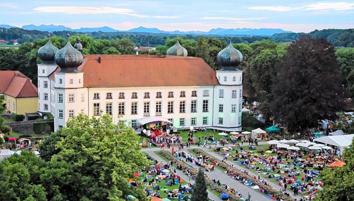 Eine Erlebnis für alle Sinne auf Schloss Tüßling.