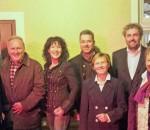 Mit Schwung in das Kommunalwahljahr 2014 gehen (von links): Matthias Ferwagner, Franz Schmidbauer, Christine Degenhart, Franz Reindl, Chistl Loferer-Horn, Robert Multrus, Dr. Beate Burkl.