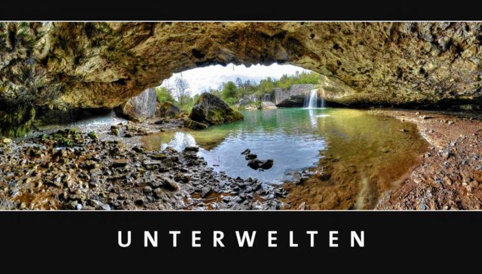 Beeindruckende Aufnahmen aus der unterirdischen Welt gibt es in Bruckmühl noch bis zum 14. Januar zu bestaunen.