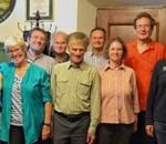 Mit viel Elan gehen die neu gewählten Vorstandsmitglieder an die Arbeit. Foto: re