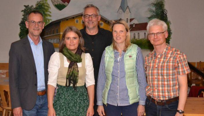 Der Vorstand des Vereins (von links): Andreas Lakowski, Christine Bruckeder, Torsten Meyer, Anna Detterbeck-Kamp und Hans-Peter Irlinger.
