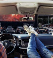 Bequem tolle Filme genießen im WEKO-Autokino.