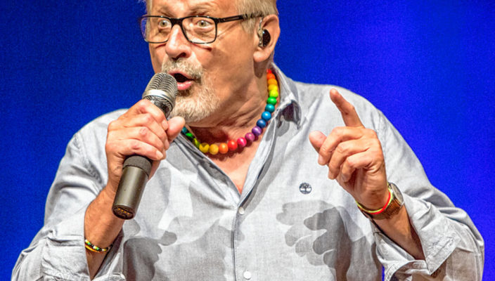 70 Jahre und kein bisschen leise: Konstantin Wecker. Foto: T. Karsten