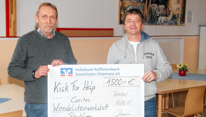 Bernd Buxbaum, links, und Christian Reisner.