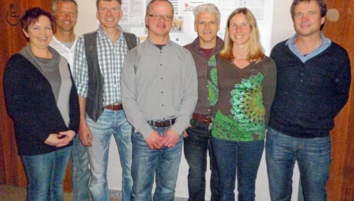 Nicole Rosenberg, Michael Jackl, Hans Jackl, Klaus Jordan, Herbert Ostarek, Michaela Rechenauer und Josef Liebl.