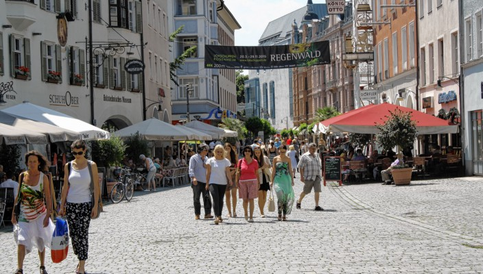 Nach wie vor sind die Geschäftsaussichten für Rosenheim positiv. Foto: ff
