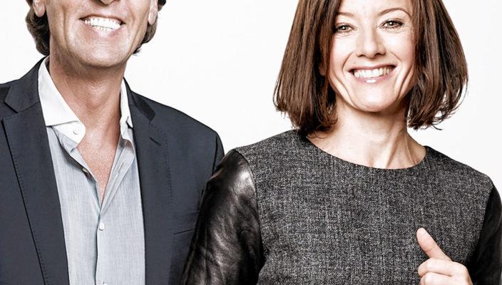 Das Expertenduo Carsten K. Rath und Sabine Hübner.