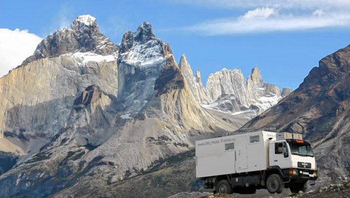 Die Reise führte das Ehepaar Därr auch nach Chile.