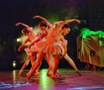 Feengleich schwebten die Ballerinas über die Bühne.