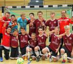 Die Mannschaft des Gastgebers und Zweitplatzierten TSV 1860 Rosenheim.
