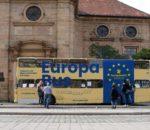 Unterwegs in Sachen Information: der Europabus.