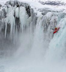 Spektakuläre Szene des Island-Abenteuers.