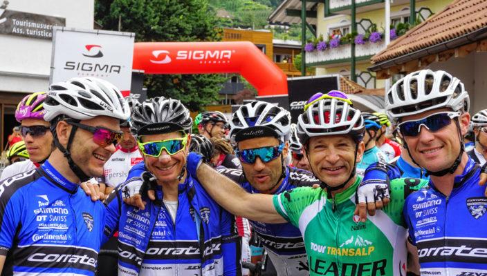 Das Team corratec mit Michael Markolf, Stefan Oettl, Martin Reisner, Bernd Hornetz und Bart Bury.