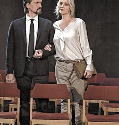 Susanne Braune und Alexander Schoenhoff. Foto: fkn