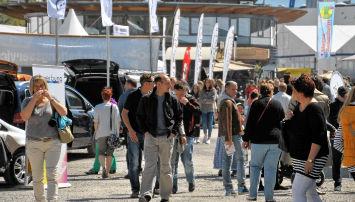 Viele Besucher besuchten die Messe Rosenheim bereits am Eröffnungswochenende.