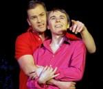 Beeindruckende Spiel: Philip (Tobias Huber) und Oliver (Bernhard Burgstaller). Foto: Jacobi